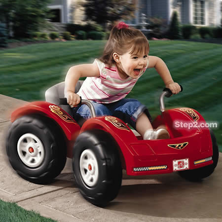 Zip & Zoom Pedal Car