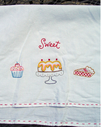Cake Towel Embroidery
