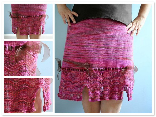 Lacy Skirt with Bows Mosaic