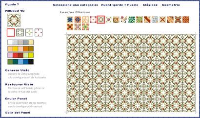Editor Diseños baldosas hidráuilicas