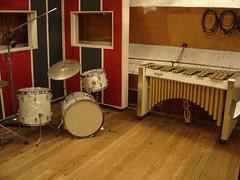 Ludwig drum set and Deagan vibes at Motown studios Detroit (stevesobczuk) Tags: studio drums detroit vibes vibraphone ludwig recording berrygordy motown deagan hitsvilleusa thesoundofyoungamerica recodingstudios