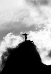 New 7 Wonder of the World (Imagem Compartilhada) Tags: brazil brasil riodejaneiro clouds christ corcovado cristo maravilhas wondersoftheworld ultimateshot flickrelite