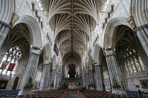 exeter cathedral: nave
