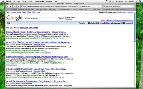 Winsorize Search