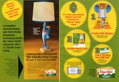 Charlie Tuna Lamp ad