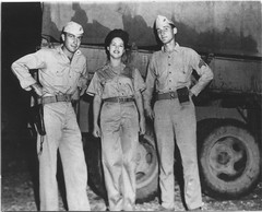 Lucky Fellas (afigallo) Tags: usmc war pacific wwii ww2 marines uso saipan
