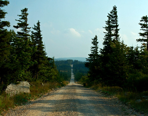 It's a long road to Dolly Sods...