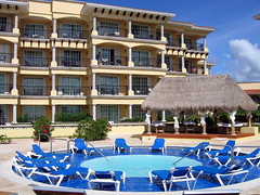 Jacuzzi and Rooms (geog) Tags: mexico hotel resort elcid quintanaroo