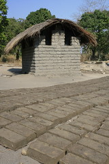 Mud bricks make mud-brick houses