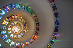 Glory (p_e_t_o) Tags: thanksgiving color spiral mosaic stainedglass spire saturation mostfavorited topf150 thanksgivingsquare fivestars cotcmostfavorited perfectangle impressedbeauty superbmasterpiece diamondclassphotographer colourartaward fivestarsphotograph thebestpool