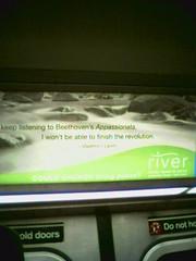 MTA's Terrorist Ad