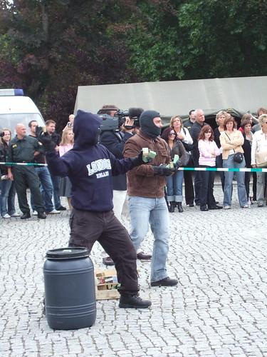 Bereitschaftspolizei-Show