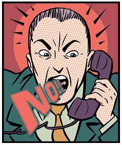 Não telemarketing, não!!!