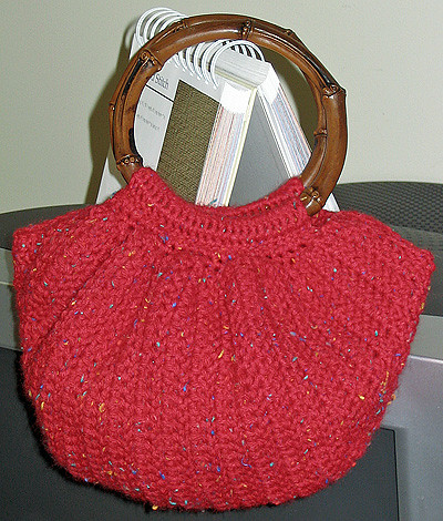 CROCHET PURSE PATTERN WOOD HANDLES FREE CROCHET PATTERNS