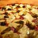 Half Napoli, half salami and artichoke