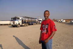 ZA 47.jpg (Claude  BARUTEL) Tags: africa portrait truck south transport driver