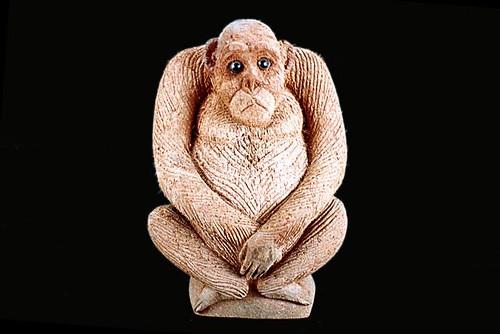 Coconut Husk monkey handicraft, coconut handicraft