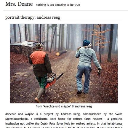 Mrs. Deane: Andreas Reeg