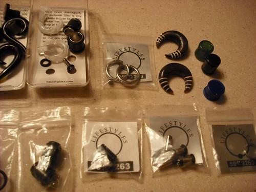 sizes of ear gauges. ear gauges for size 12