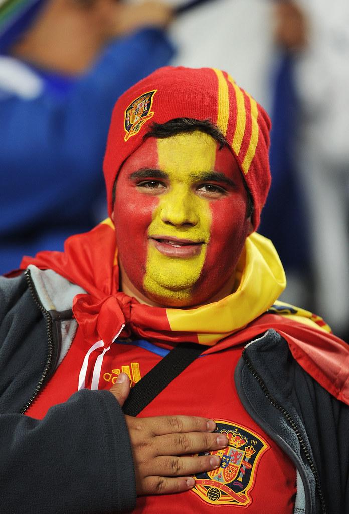 Thumb Las caras pintadas de los hinchas de España versus Honduras #esp #hon