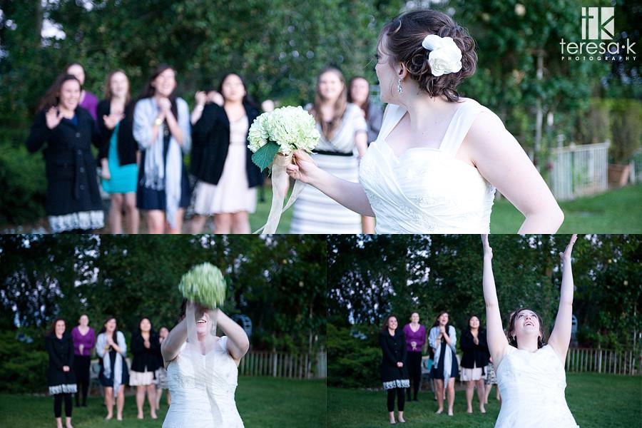 vineyard wedding party, galt, california, wedding pictures