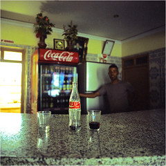 (thomasw.) Tags: africa travel sahara analog cross cola morocco afrika coca marokko wste crossed