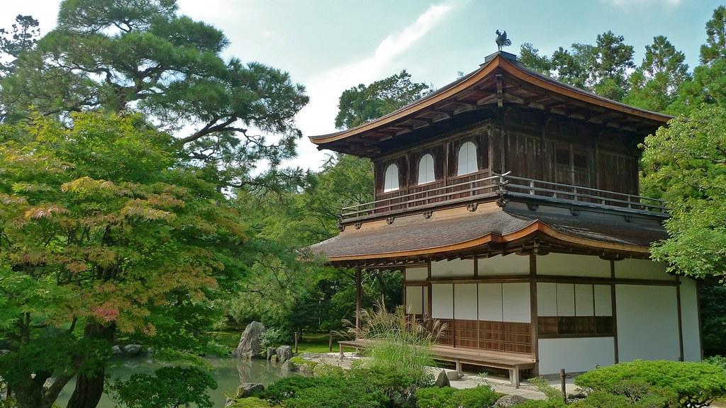Ginkaku-ji Zen Temple