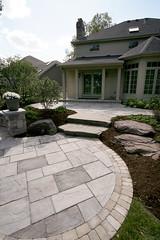 Rivenstone patio (Unilock North America) Tags: entrances patios rivenstone brusselsblock