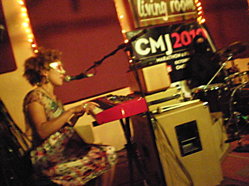 Martina Topley-Bird at Living Room, CMJ, October 20, 2010