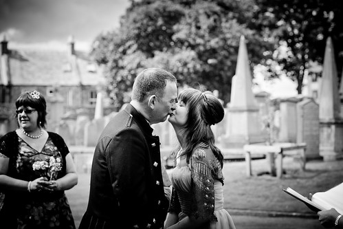 More kissies…we're married now!