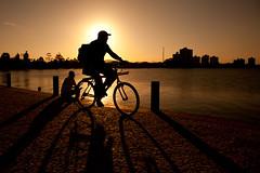 *** (let's fotografar) Tags: sunset pordosol bike contraluz bicicleta santacatarina silhueta penha