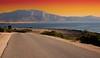 Strada sul mare - Sea Road (kikkedikikka) Tags: nikon san strada italia tramonto mare natura lo sole acqua capo sicilia trapani vito macari ombrellone d40 nikond40 rgspaesaggio rgscastelli rgsnatura rgsscorci