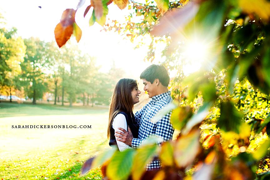 Loose Park engagement photographers, Kansas City