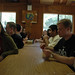 Students at Student Leadership Retreat (Malibu, CA)