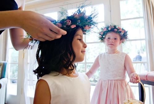 Bestowing the Floral Crown