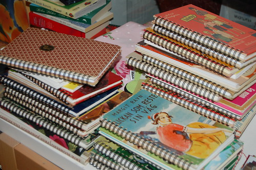 Spiral bound notebooks