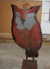 Melinda's owl art