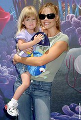 Denise Richards and daughter Sam Finding smiles for the cameras at the Nemo Submarine Voyage opening at Disneyland. (HOLLYWOOD KIDS) Tags: woman cinema celebrity female mom femme mommy mulher hollywood actress moviestar movies celebrities mummy denise richards popstar atriz deniserichards hollygossip