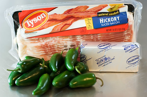 The Cast of Characters: Fresh Jalapenos, Cream Cheese, and Bacon ...