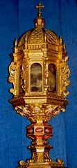 The skull of Blessed Diano of Andalo (Curious Expeditions) Tags: italy church saint san catholic bologna mummy stcatherine domenico stdominic sandominico curiousexpeditions