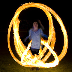 Living Flame (Kenny Maths) Tags: scotland edinburgh beltane themeadows firespinner kennymathieson superbmasterpiece superhearts