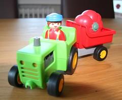 Bauer Gurke auf dem Weg nach Italien