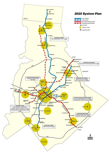Charlotte Light Rail Plans