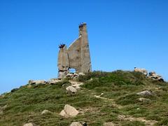 Restes de l'ancien observatoire de Punta di Tozzarella