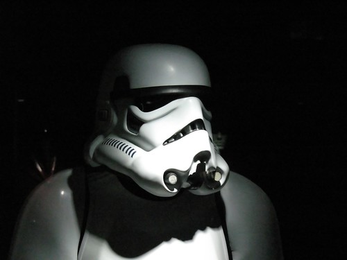 Stormtrooper in the shadows