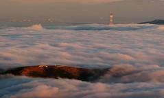 Ocean Fog (A Sutanto) Tags: ocean california ca summer urban usa mist fog america landscape marine view scenic mttam marincounty sutrotower mttamalpais abigfave