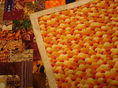 four seasons doll quilt swap - back