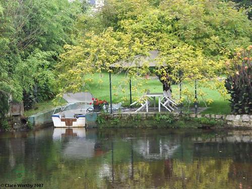 Riverside Garden, Brantome