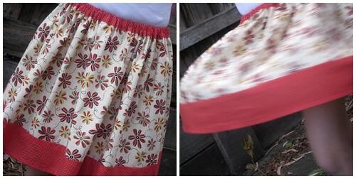 Chloe's skirt
