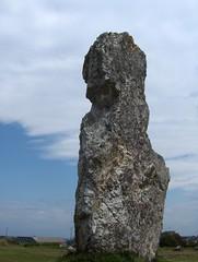 Alignements de Lagatjar (Camaret, presqu'île de Crozon. 22 août).